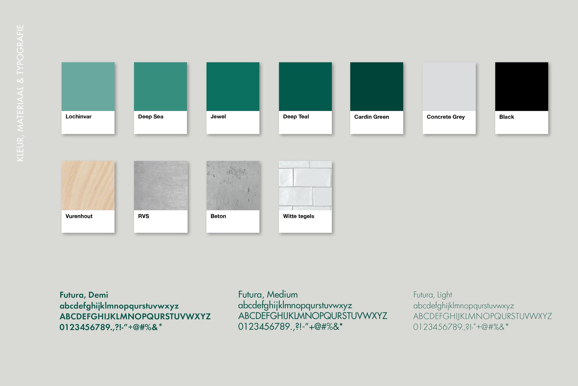Siebe's Kaas Kleur Materiaal Typografie